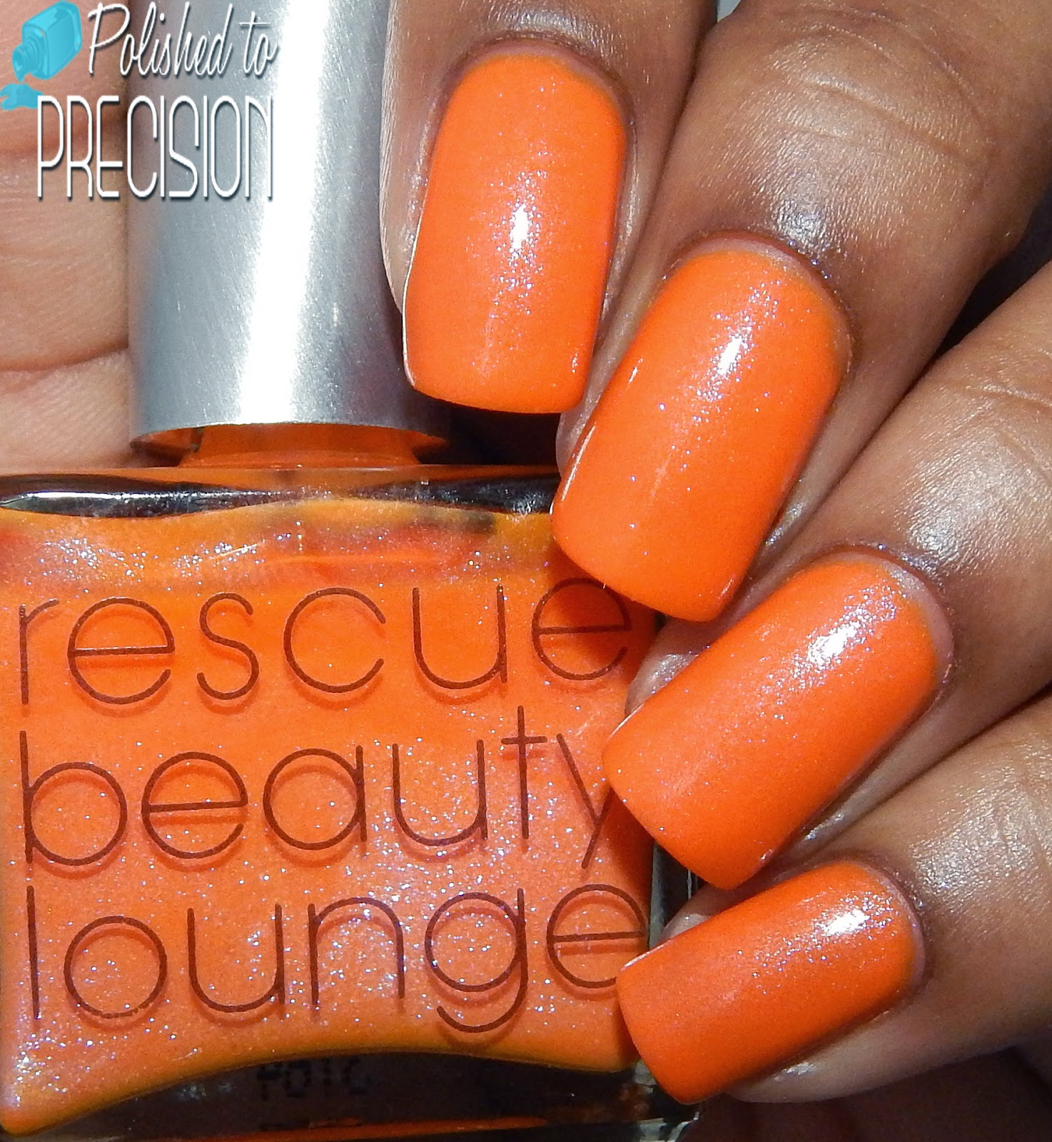 Rescue Beauty Lounge Nails and Noms Swatch