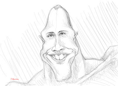 Dwayne Douglas Johnson the rock humor caricature