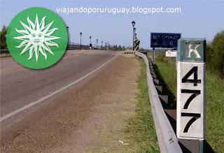 Distancias ciudades Uruguay