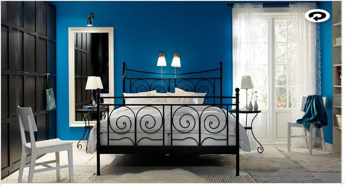 ... idee: Imbiancare colori parete: il blu e i suoi migliori abbinamenti