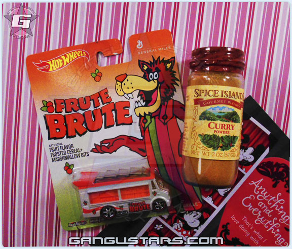 Frute Brute Hot Wheels car Matchbox Monster cereal