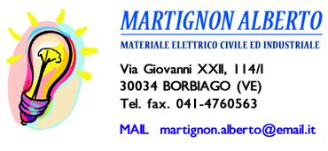 martignon materiale elettrico