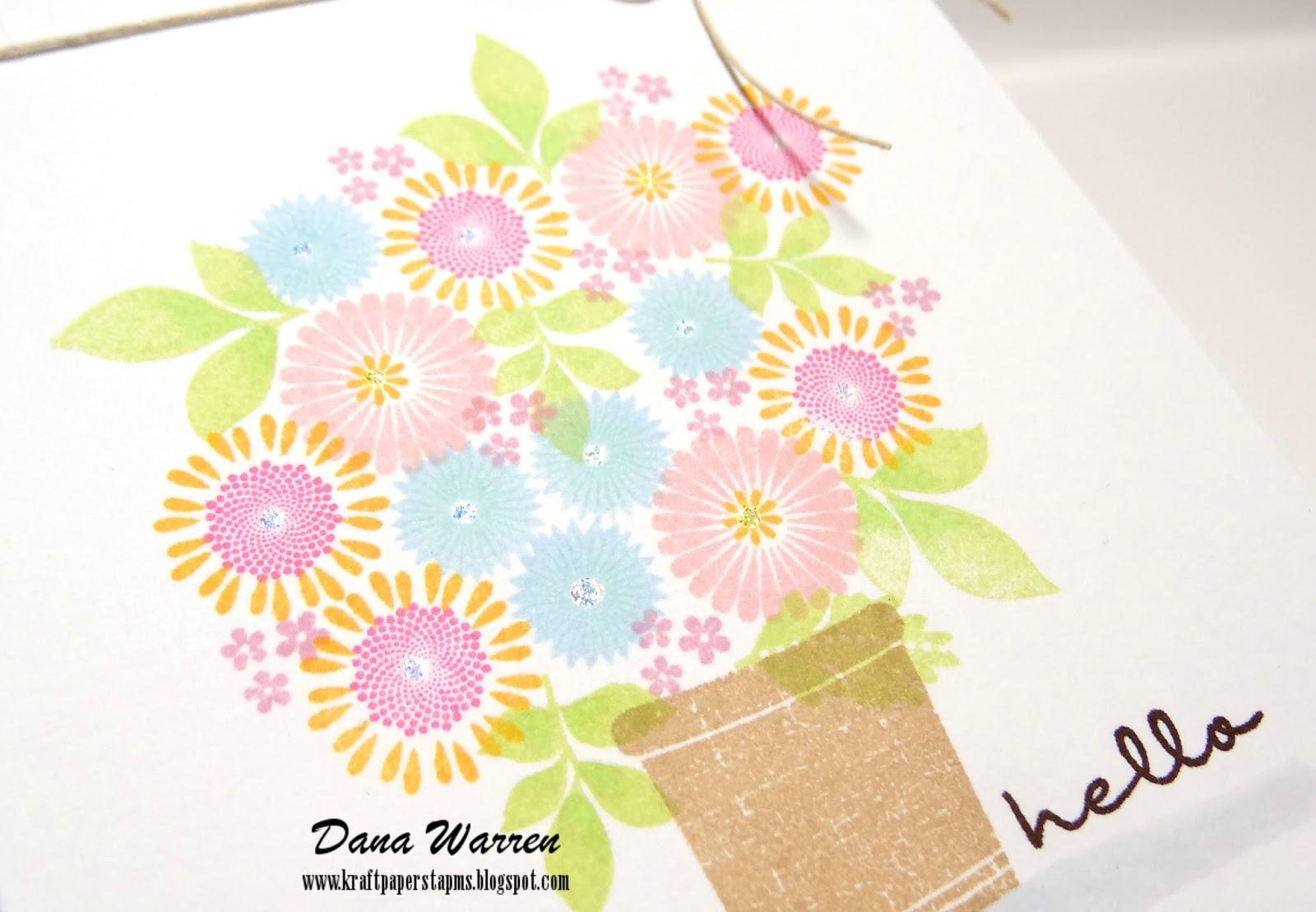 Dana Warren - Kraft Paper Stamps - Papertrey Ink