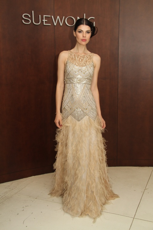 Stunning Non Traditional Wedding Dresses : Forevernow all that glitters is gold