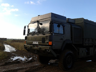 606 Squadron, RAF Reserves, off-road driving, driver training, Land Rover, military vehicle, service vehicle, RAuxAF,