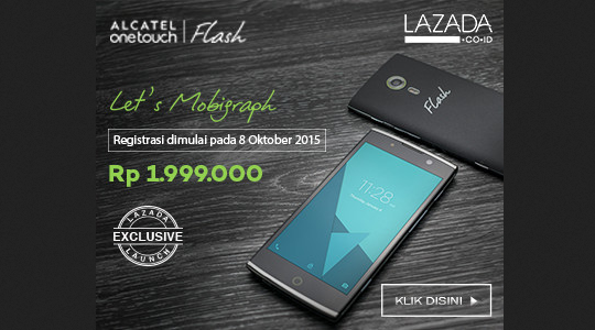 Alcatel Flash 2 di Lazada
