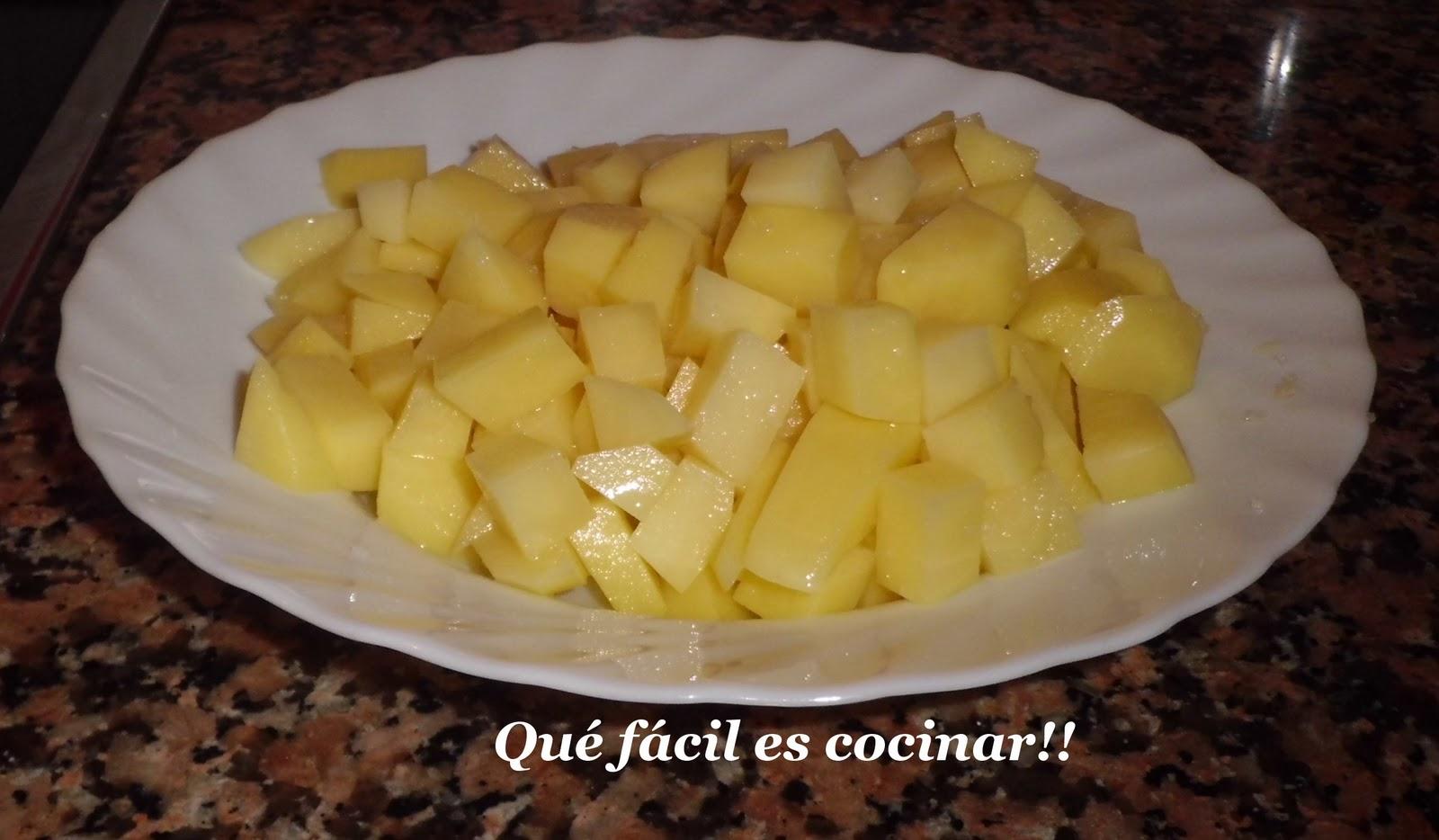Perezosos a cocinar patatas a lo pobre for Cocinar patatas a lo pobre