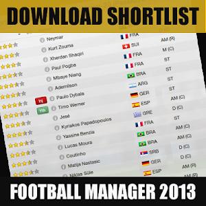 Download Shortlist for FM13