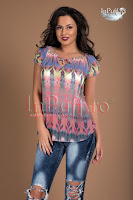Bluza voal multicolor (Tiffani)