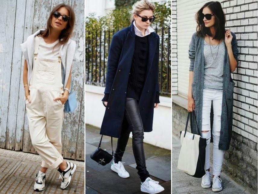 Estos son sólo algunos de los outfits que puedes idear usando unos cómodos tenis blancos. Si te gustó, no olvides seguir nuestras recomendaciones de moda.