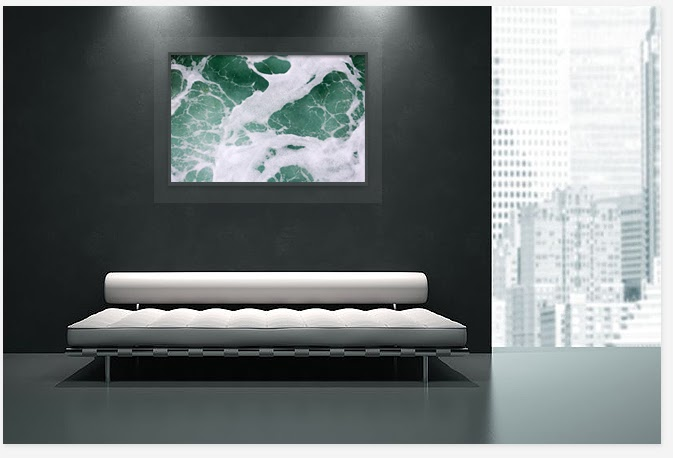 Interior luxury decor with art picture,buy original art photography