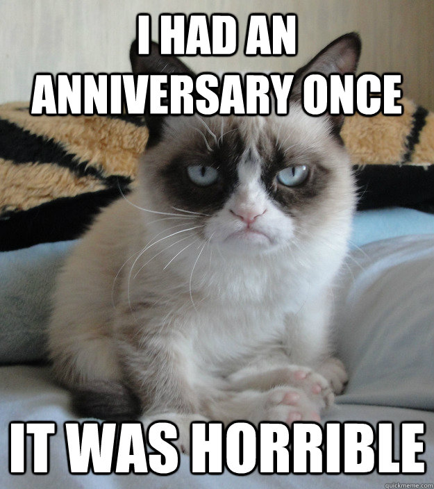 Most Funny Grumpy Cat Happy New Year Memes ~ Happy Valentines Day 2017 ...