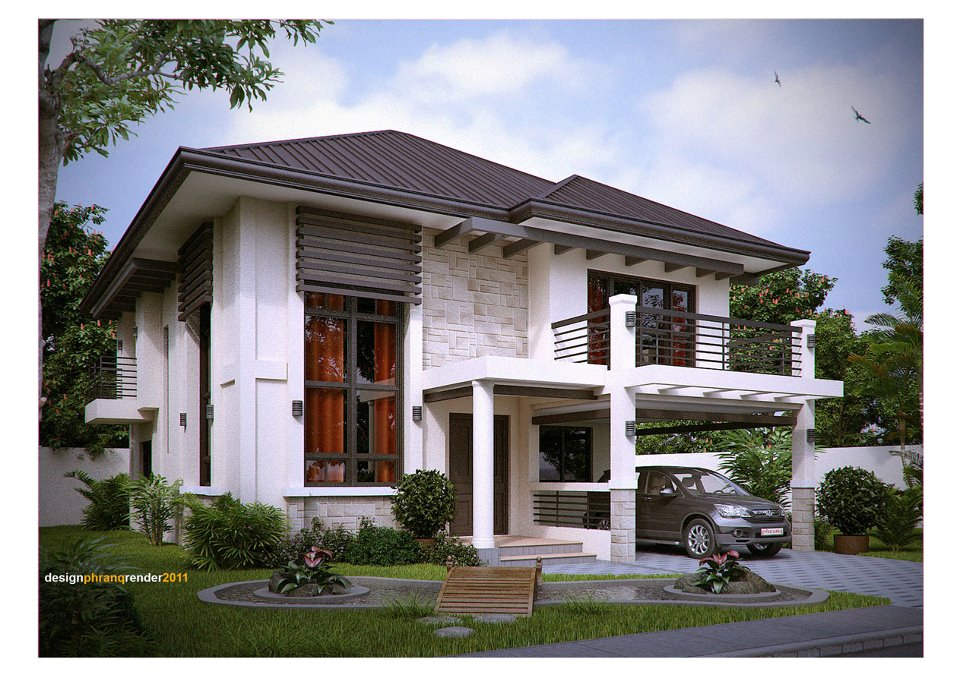 Bechay blogs my dream house Architect modern zen type house