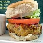 Caribbean Chicken Burgers