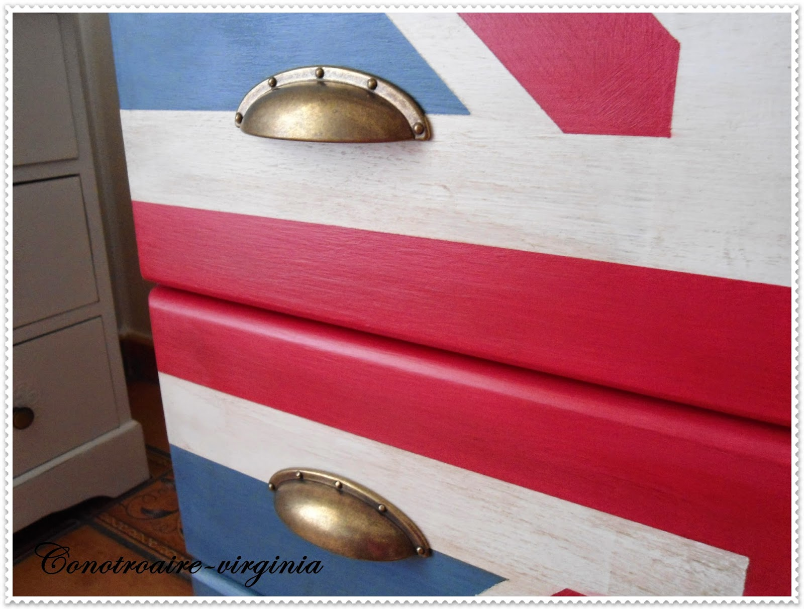 Con otro aire mueble estilo british - Leroy merlin tiradores ...