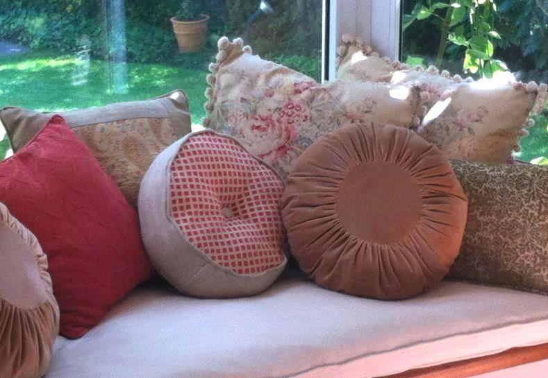 Paz montealegre decoraci n cojines originales decorativos comod simos solo hechos para ti - Cojines redondos ...