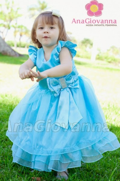 4 Modelos de vestidos para festa Frozen