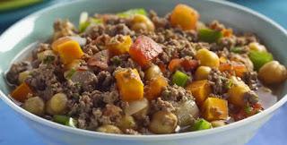 Ensopado de carne com legumes light