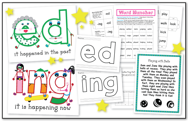 the teacher wife when do you double the final consonant – Ed and Ing Worksheets