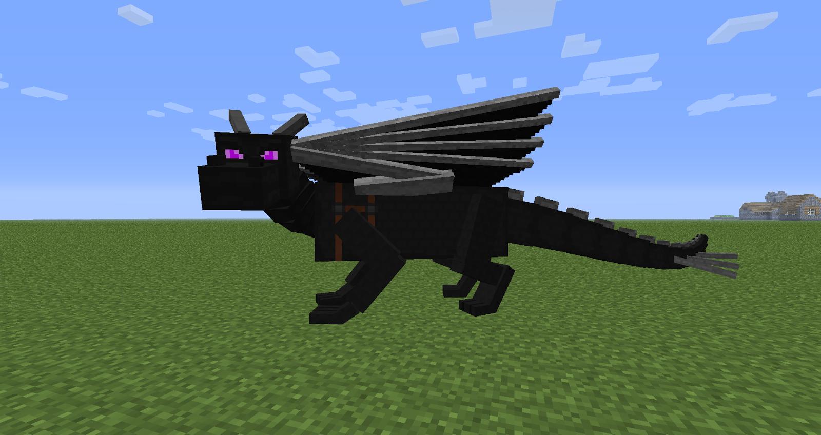 Как в майнкрафте сделать дракона 100