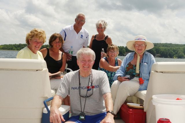One of our fine Committee Boat crews