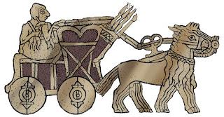 Mesopotamia - Carro de guerra sumerio - HistoriaDeLasCivilizaciones.com