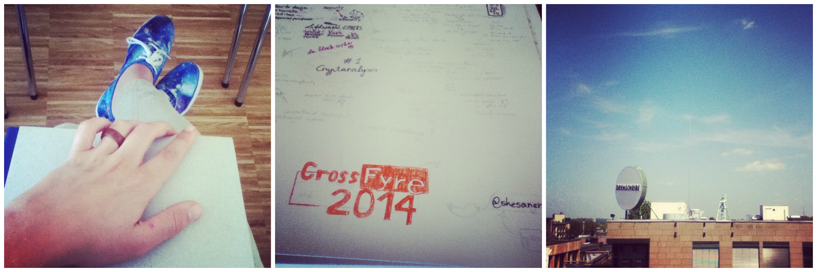Cross Fyre Workshop 2014 in Bochum