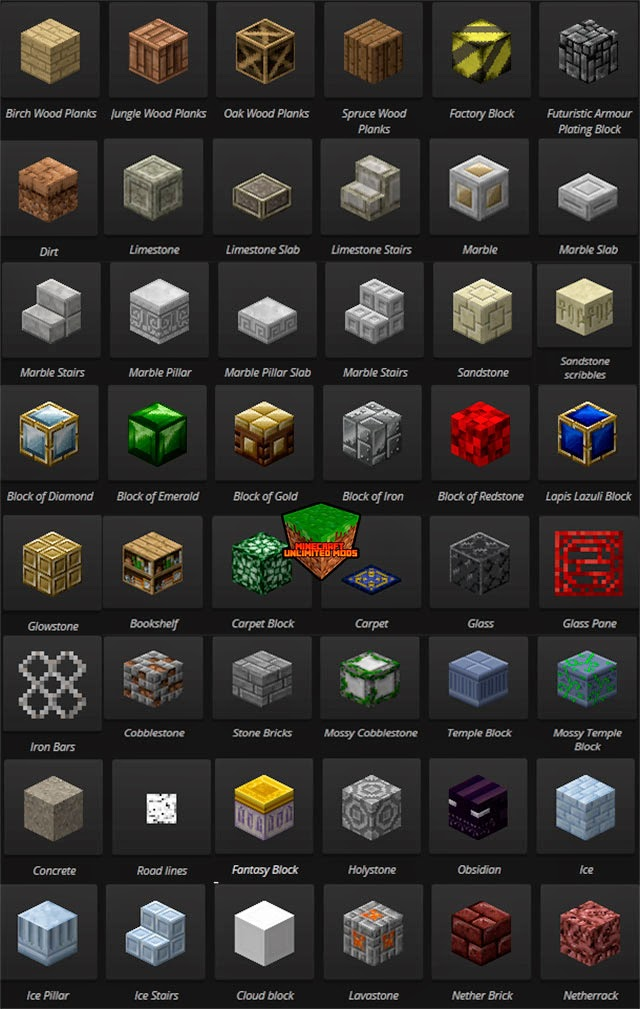 Chisel Mod Minecraft bloques crafteos