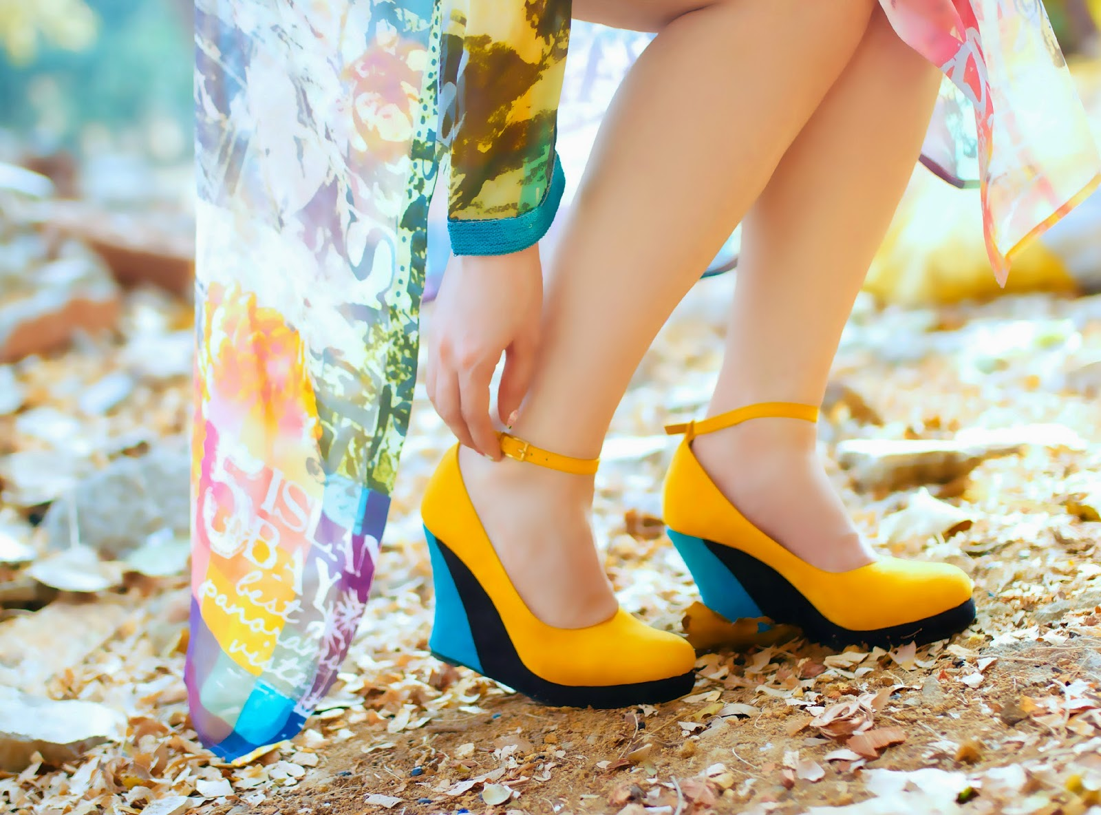 Yellow Wedges from PAIO
