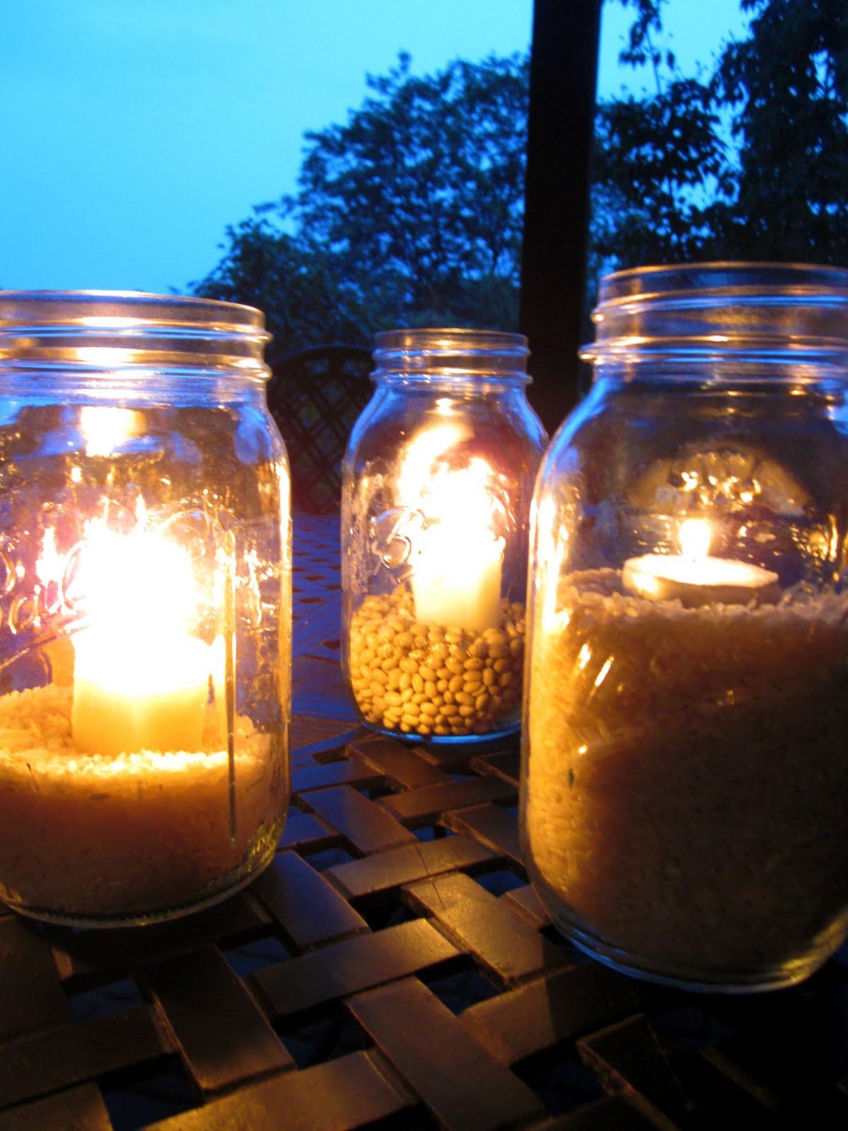 Outdoor mason jar lights workwithnaturefo