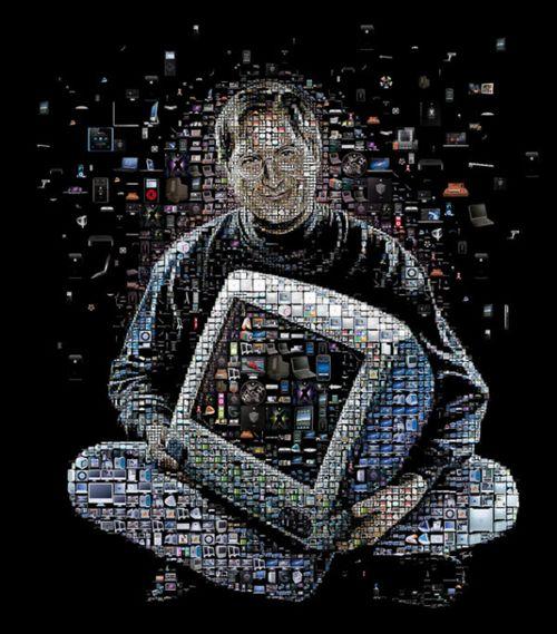 40 Lukisan Steve Jobs yang Mengagumkan: Steve and Mac