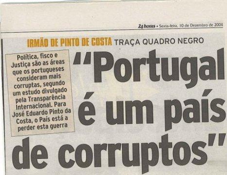 """Portugal: MEDIDAS DA TROIKA DEVEM TER """"PREPARAÇÃO ANTI-CORRUPÇÃO"""", diz Cravinho"""