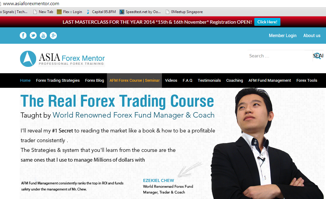 Forex courses in singapore