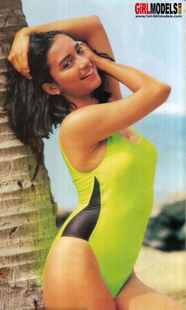 foto jadul shahnaz haque hot swimsuit   foto sexy artis