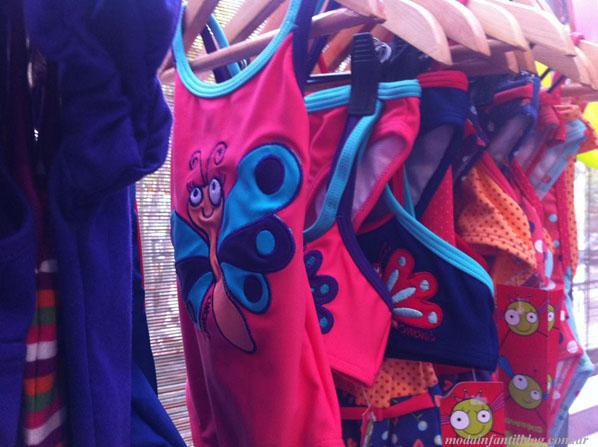 trajes de baño infantiles 2014 owoko