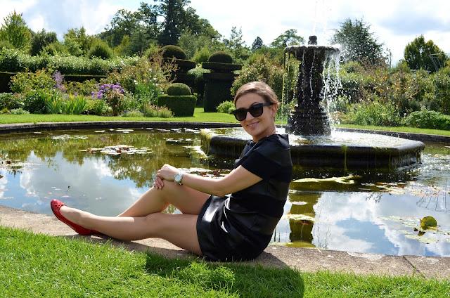 Hatfield Park and Half Leather Zara Dress