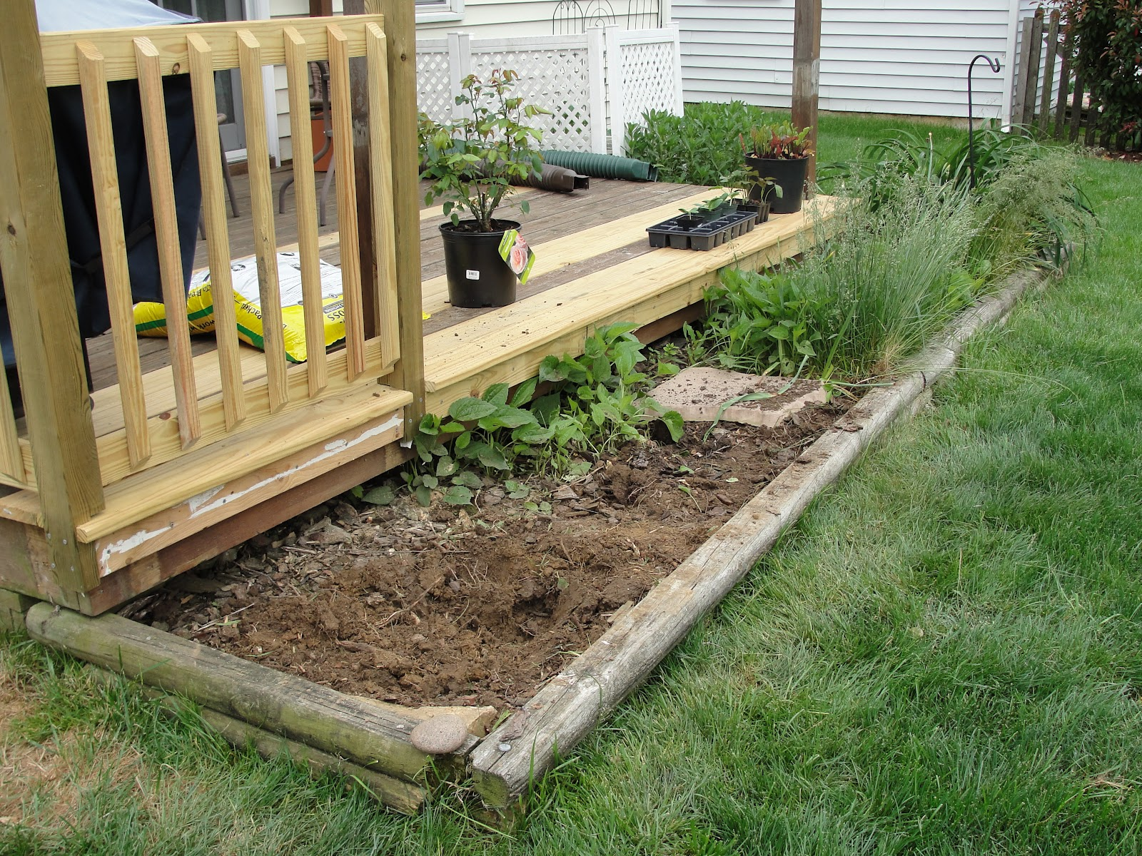 Box Steps Plans For Decks : Lessons from the garden building a box step for deck