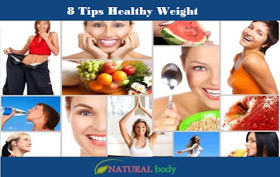 8 Tips Healthy Weight