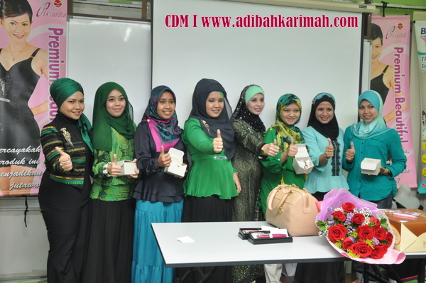 CDM Adibah Karimah celebration, a new cdm in premium beautiful business