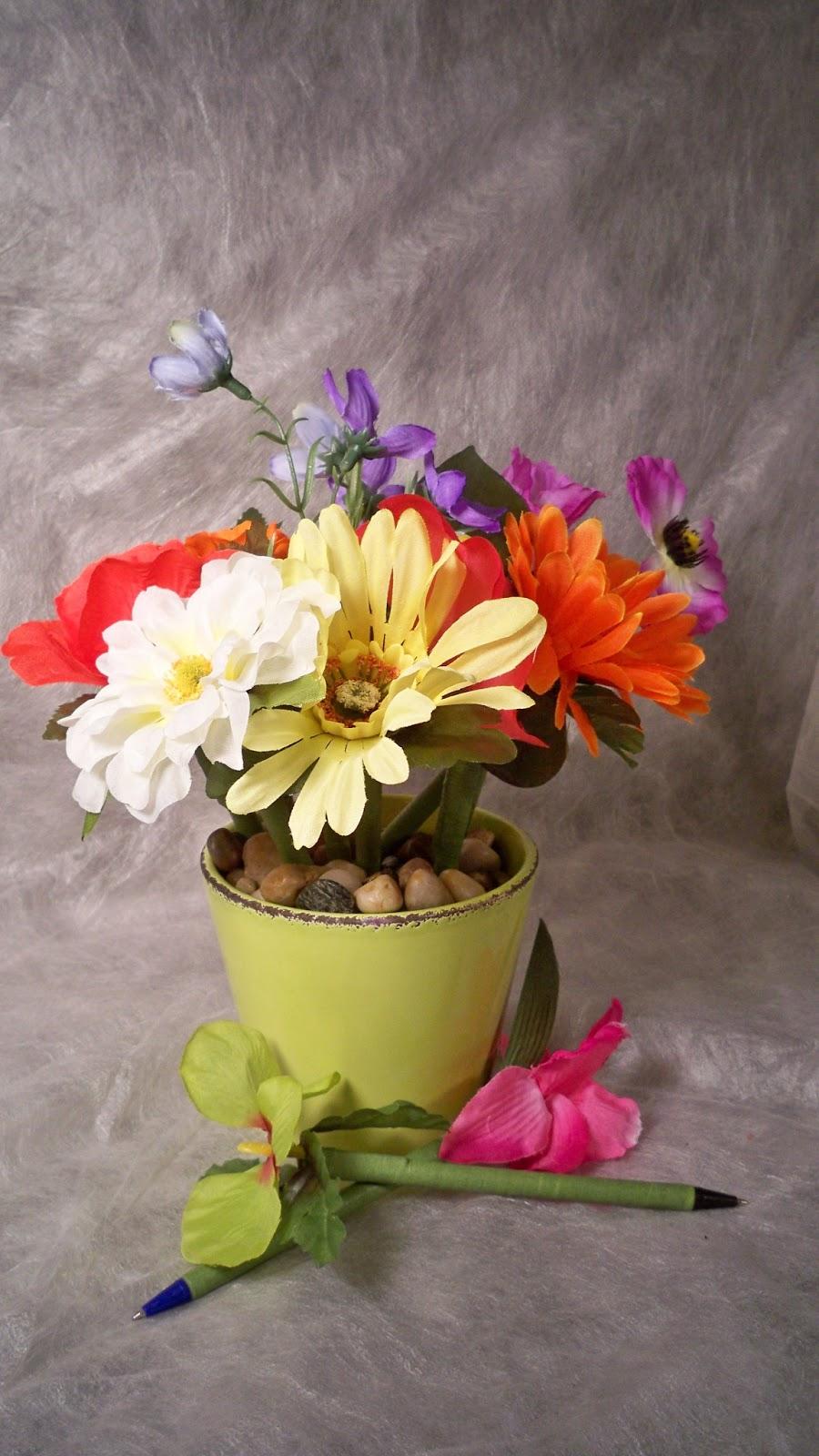Kreations By Kendall: Flower Pen Bouquet