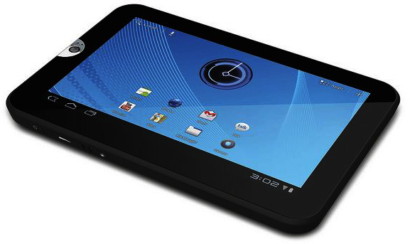 Toshiba's 7-inch Thrive&#8482; Tablet powered by Android&#8482;