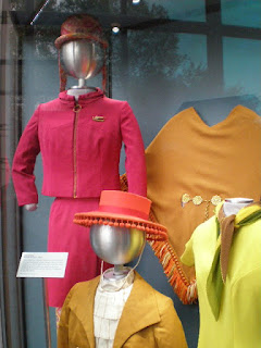 Display of costumes for Air and Space Museum. Mannequins are custom made by art conservator