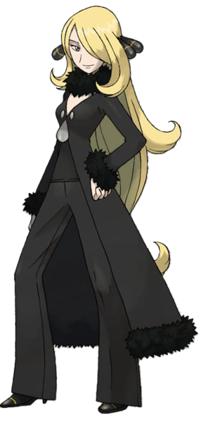 Cynthia In Pokemon Pearl