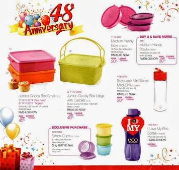 JUMBO GOODY BOX TUPPERWARE