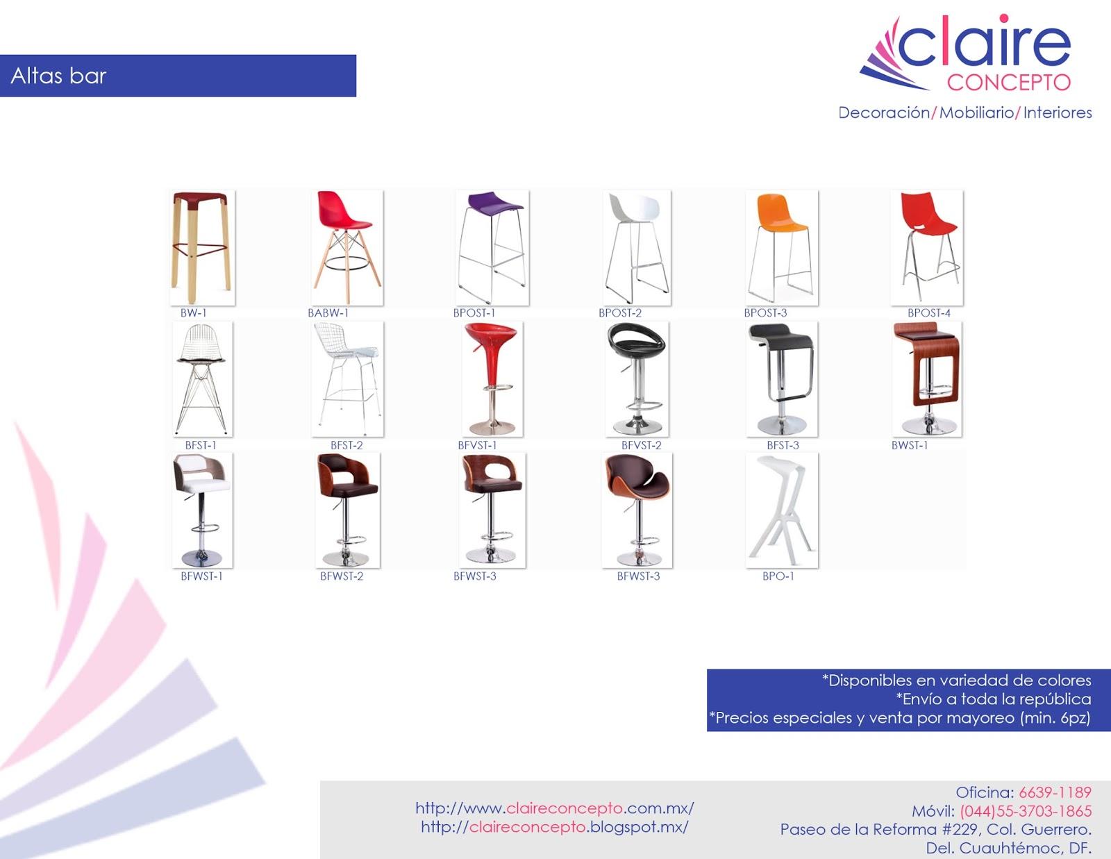 Mobiliario venta de sillas y mesas para bar restaurantes for Mobiliario para bares y restaurantes