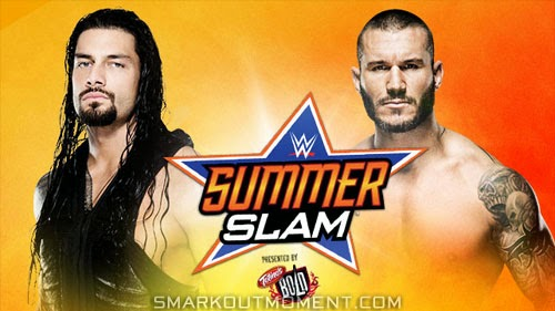 Roman Reigns defeats Randy Orton at SummerSlam 2014 event