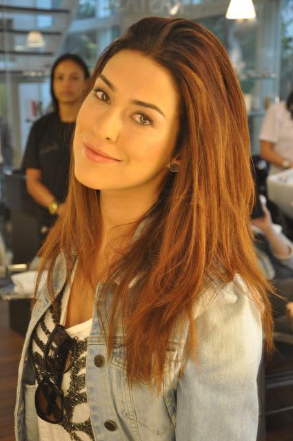 Fernanda Paes Leme (Márcia) Cabelos das atrizes