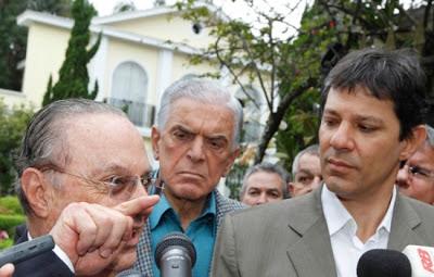 Paulo Maluf e Fernando Haddad - Um Asno