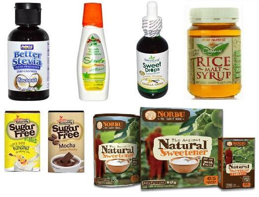 All Natural Powered Drink Mixes