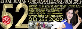 01 - 31/07/2016  JUALAN KENDERAAN LELONG SEKITAR LEMBAH KLANG - 3 KUALA LUMPUR  5 SELANGOR